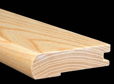 3/4&#034; x 3 1/4&#034; x 6.5 LFT Ash Stair Nose